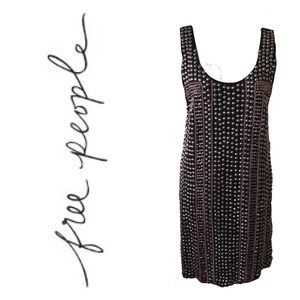 Free People Gorgeous Studded Dress. Sz S